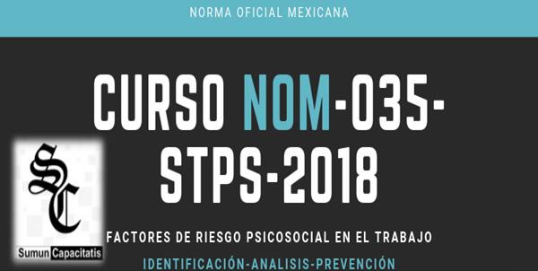 CURSO NOM-035- STPS